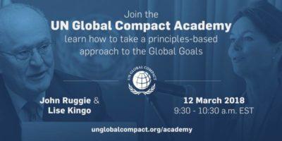 Старт Академії від Глобального Договору ООН