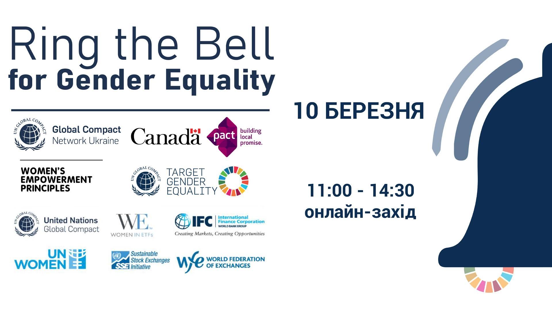 Україна вперше приєднається до глобальної ініціативи Target Gender Equality